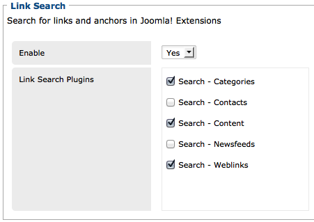 link search_options