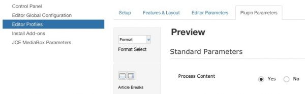 Preview option