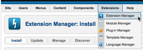 install editor manager