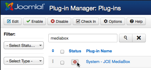 joomla3 install mediabox enable2